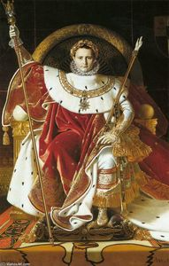 Jean Auguste Dominique Ingres - Napoleon I on the Imperial Throne