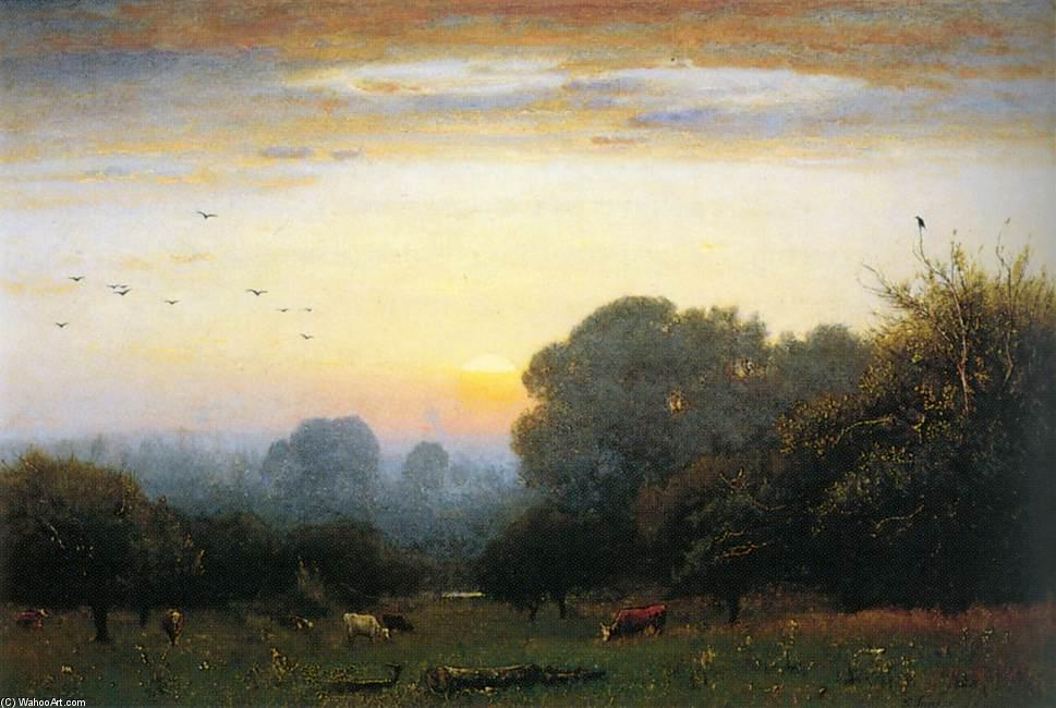 Morning, 1878 by George Innes | Art Reproduction | WahooArt.com