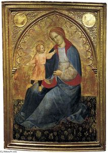 Jacobello Del Fiore - Madonna and Child