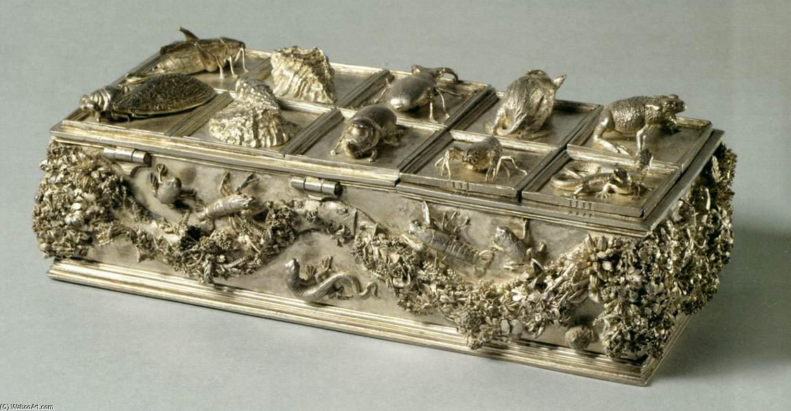 Inkstand, Silver by Wenzel Jamnitzer (1507-1585, Italy)