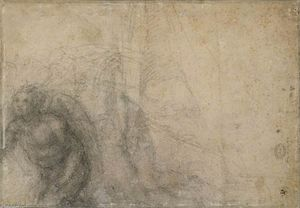 Michelangelo Buonarroti - Study for an Annunciation (verso)
