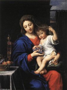 Pierre Mignard - The Virgin of the Grapes