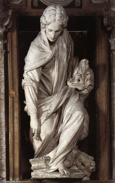 St Martha, 1609 by Francesco Mochi (1580-1654, Italy) | Art Reproduction | WahooArt.com
