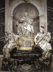 Pierre Etienne Monnot - Tomb of Pope Innocent XI