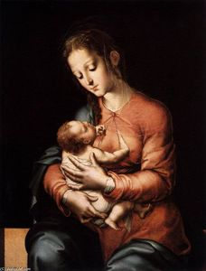Luis De Morales - Madonna with the Child