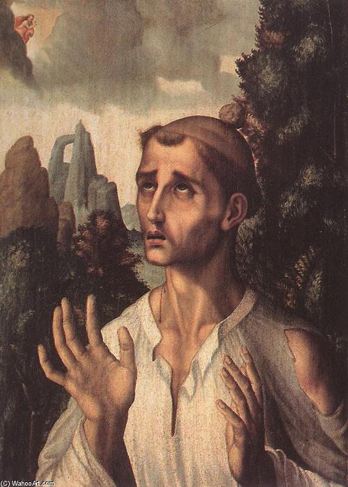 St Stephen by Luis De Morales (1509-1586, Spain) | Art Reproduction | WahooArt.com