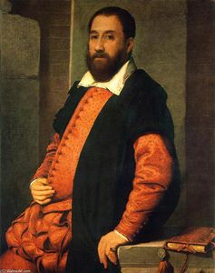Giovanni Battista Moroni - Portrait of Jacopo Foscarini