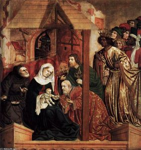 Hans Multscher - Th Adoration of the Magi