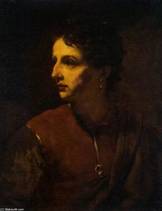 Pietro Novelli - Portrait of a Young Man with an Earring