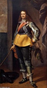 Carlo Francesco Nuvolone - Portrait of a Gentleman in Armour