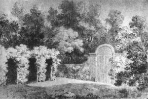 Jean-Baptiste Oudry - The Park at Arcueil
