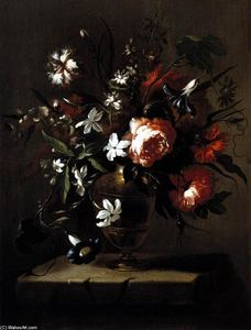 Bartolomé Pérez - Vase of Flowers
