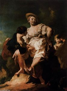 Giovanni Battista Piazzetta - The Soothsayer