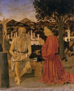 Piero Della Francesca - St Jerome and a Donor