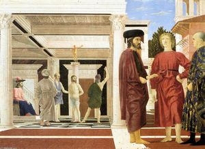Piero Della Francesca - The Flagellation