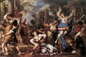 Pietro Da Cortona - The Rape of the Sabine Women