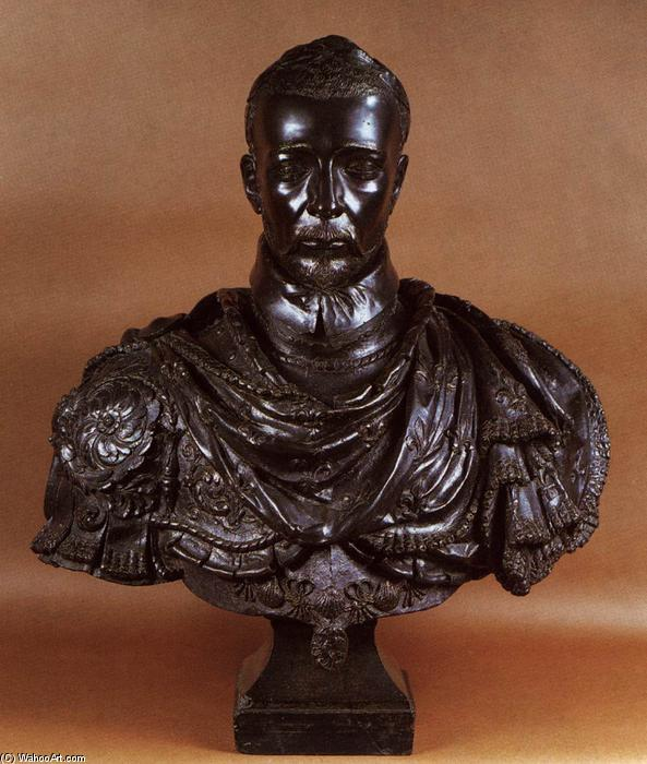 Charles IX of France, Bronze by Germain Pilon (1528-1590, France)
