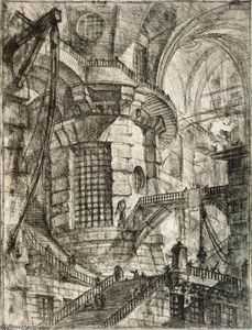 Giovanni Battista Piranesi - Round Tower