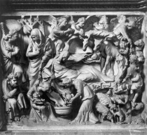 Giovanni Pisano - Story of the Birth of Jesus