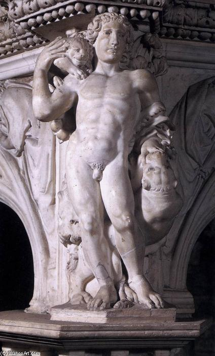 Fortitude, Marble by Nicola Pisano (1230-1284, Italy)