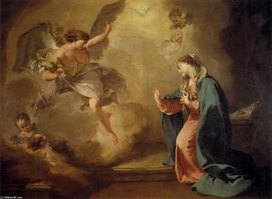 Giambattista Pittoni - Annunciation