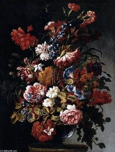 Paolo Porpora - Still-Life of Flowers