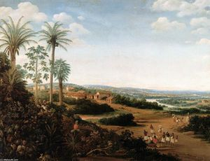 Frans Post - 'The Home of a ''Labrador'' in Brazil'