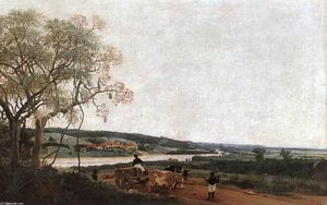 Frans Post - The Ox Cart