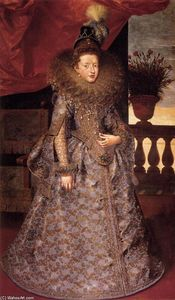 Frans The Younger Pourbus - Portrait of Margherita Gonzaga