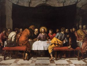 Frans The Younger Pourbus - The Last Supper