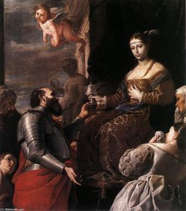Mattia Preti - Sophonisba Receiving the Goblet