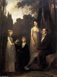 Pierre-Paul Prud'hon - Rutger Jan Schimmelpenninck with his Wife and Children