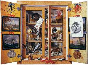 Domenico Remps - Cabinet of Curiosities