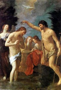 Reni Guido (Le Guide) - Baptism of Christ