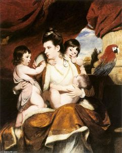 Joshua Reynolds - Lady Cockburn and her Three Eldest Sons