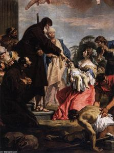 Sebastiano Ricci - St Francis of Paola Resuscitating a Dead Child