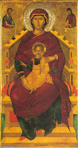 Andreas Ritzos - The Mother of God Enthroned