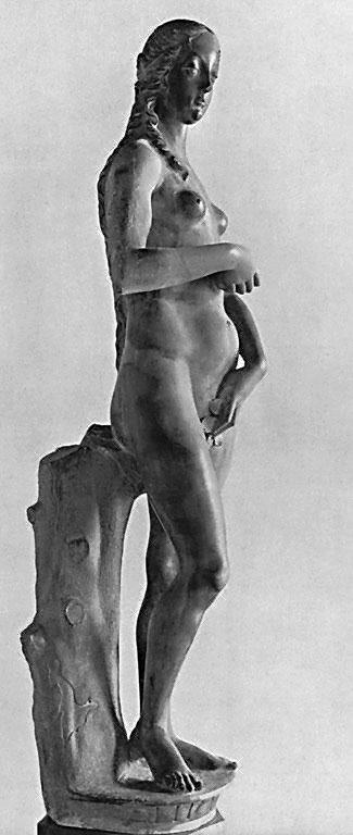 Eve (side view), 1485 by Antonio Rizzo (1430-1499, Italy) | Museum Quality Reproductions | WahooArt.com