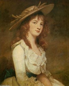 George Romney - Miss Constable