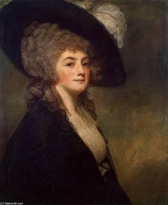 George Romney - Portrait of Mrs Harriet Greer