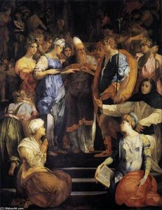 Rosso Fiorentino - Betrothal of the Virgin