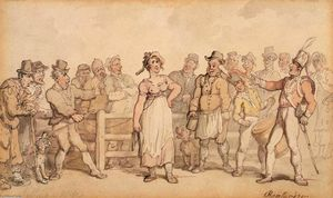 Thomas Rowlandson - Selling a Wife