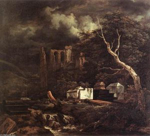 Jacob Isaakszoon Van Ruisdael (Ruysdael) - The Jewish Cemetery