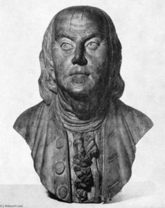 William Rush - Bust of Benjamin Franklin