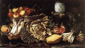 Tommaso Salini - Still-life with Fruit, Vegetables and Animals