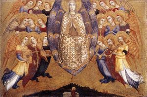 Sano Di Pietro - Assumption of the Virgin