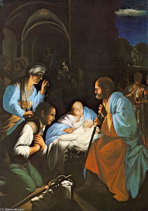 The Birth of Christ, 1610 by Carlo Saraceni (1579-1620, Italy) | WahooArt.com