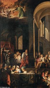 Carlo Saraceni - The Birth of the Virgin