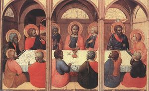 Sassetta (Stefano Di Giovanni) - The Last Supper