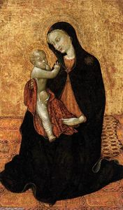 Sassetta (Stefano Di Giovanni) - Virgin of Humility